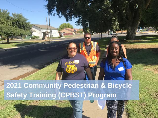 CPBST participants on a walk audit