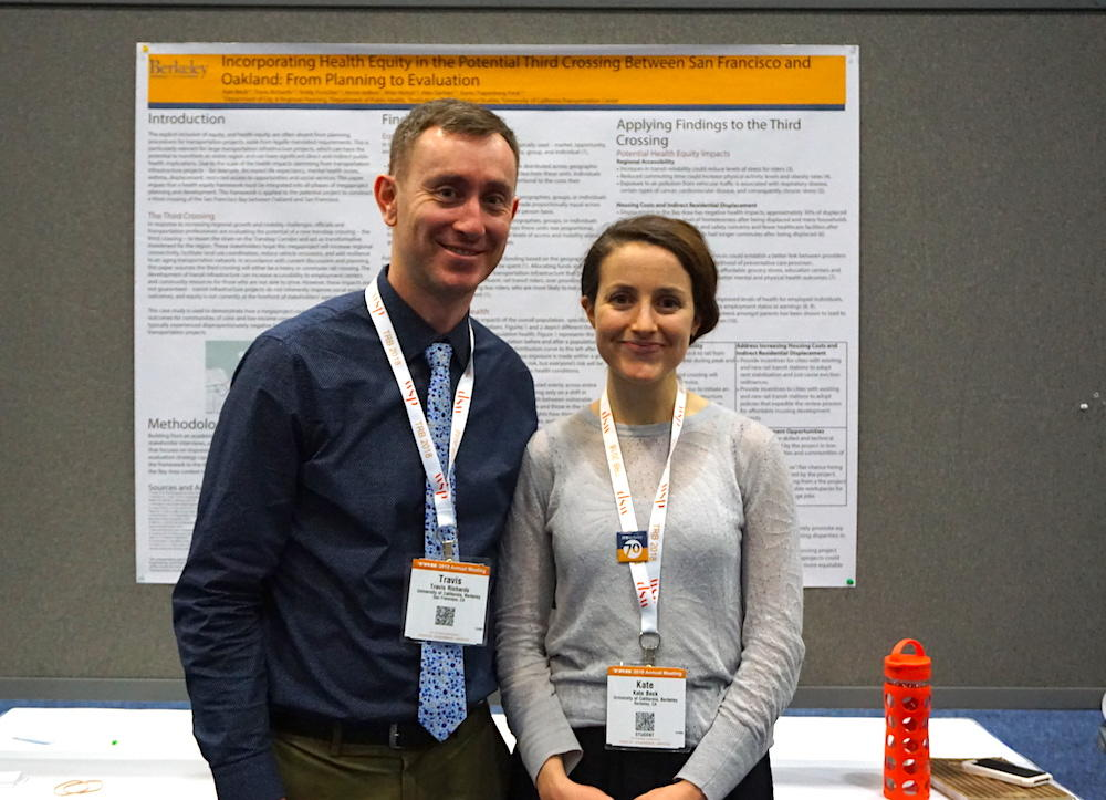 Kate Beck and Travis Richards TRB 2018