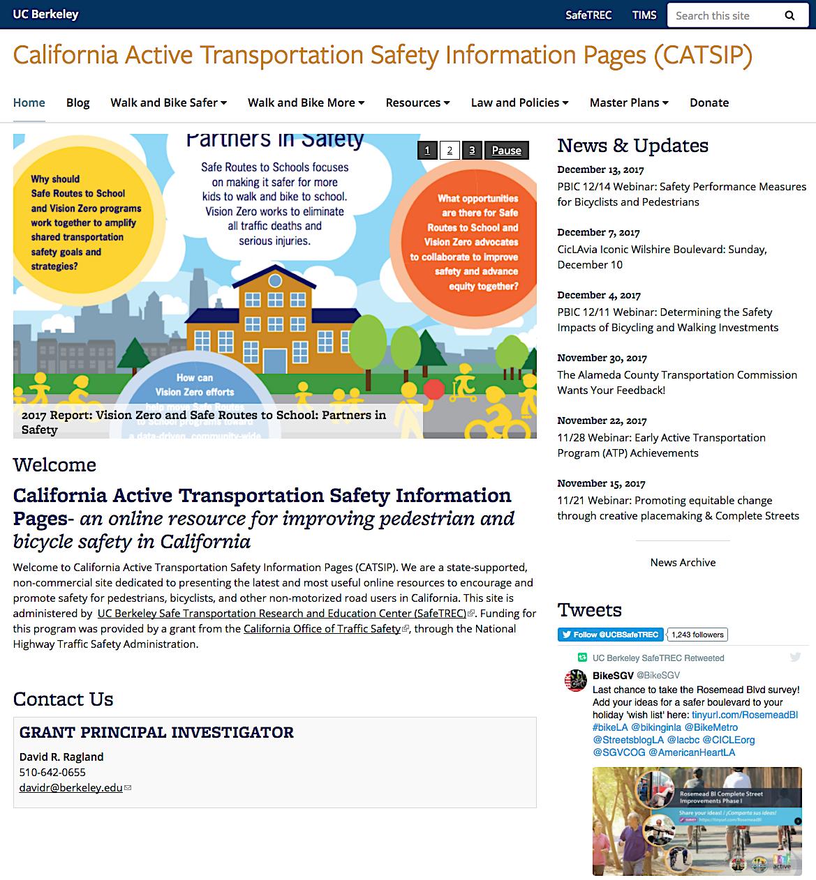 CATSIP Website