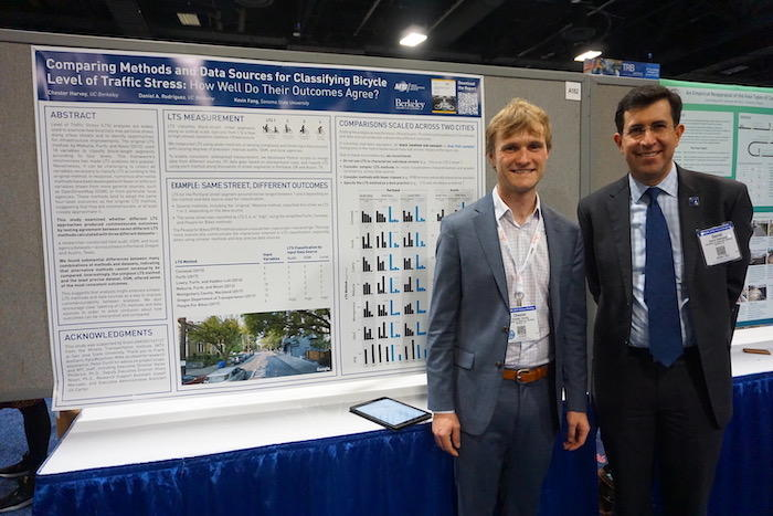 Chester Harvey and Daniel Rodriguez at TRB 2020