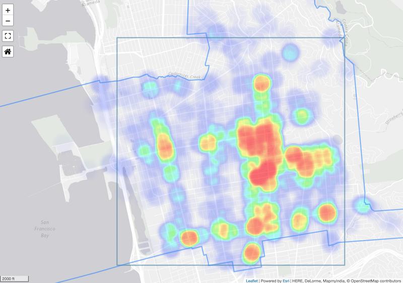 Community Heat Map Graphic