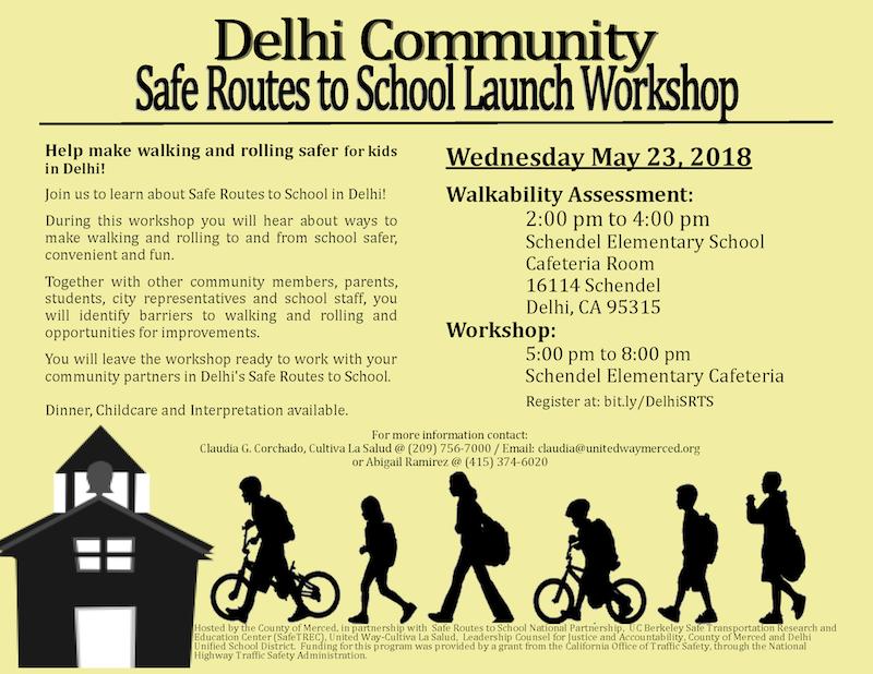 Safe Routes to School Workshop in Delhi