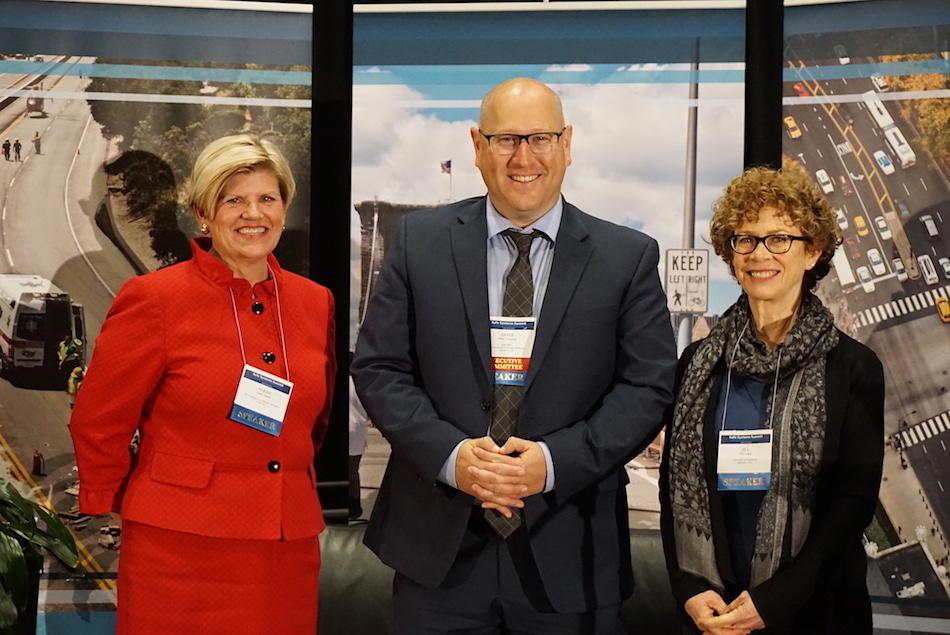 Photo of Session Panelists, Sarah Garner, Offer Grembek and Jill Cooper
