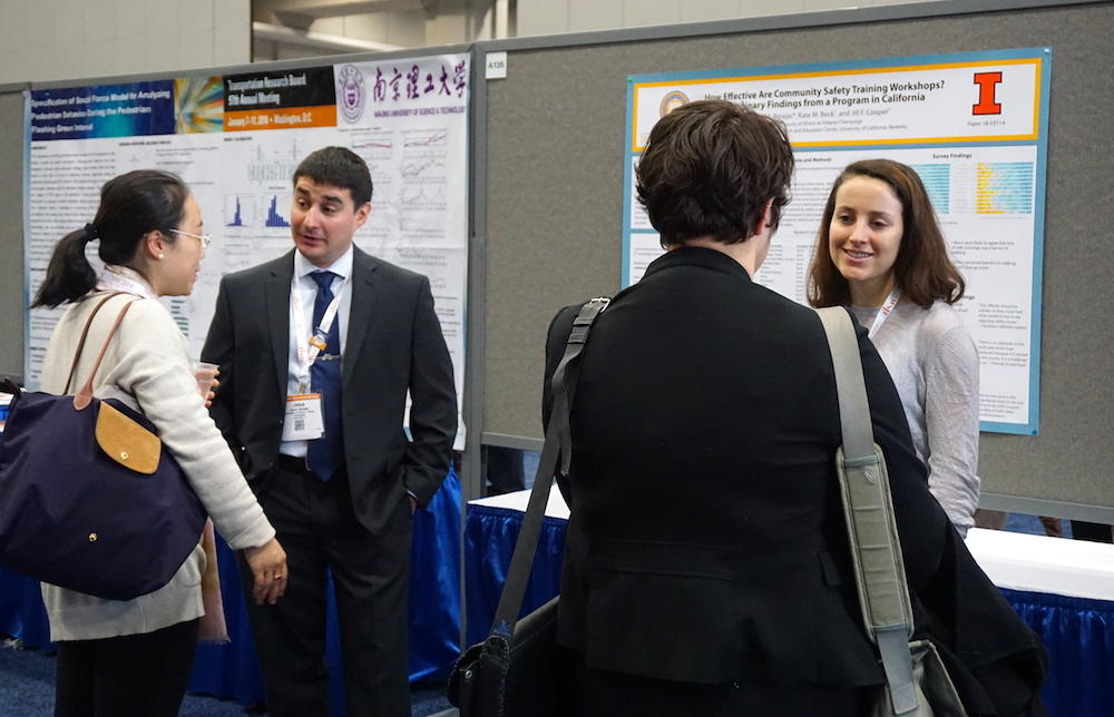 Barajas and Beck at TRB 2018