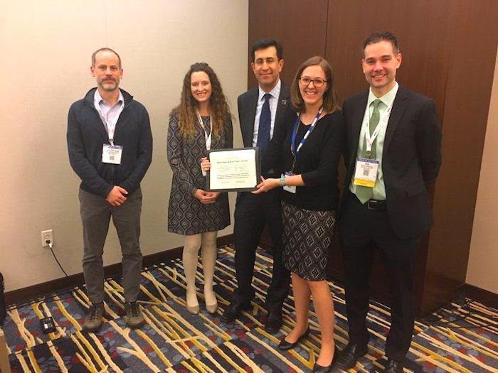 Katie Harmon, Daniel Rodriguez, and Laura Sandt Receive Best Paper Award at TRB 2020