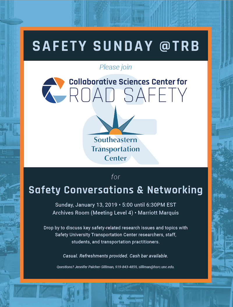 Flyer for 2019 Safety Sunday