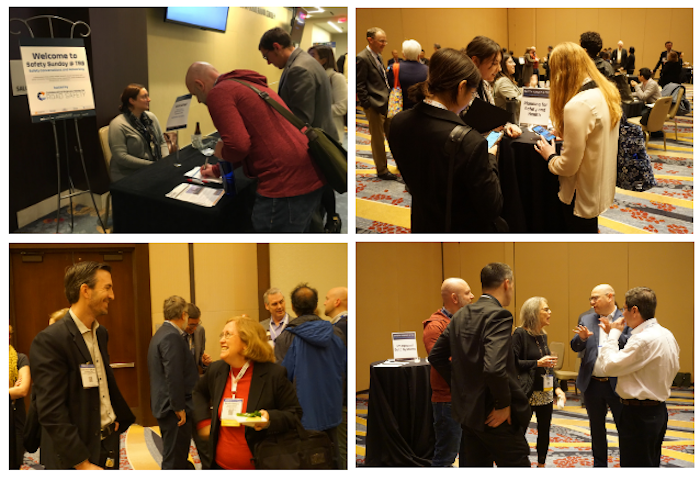 Collage of participants at Safety Sunday 2020