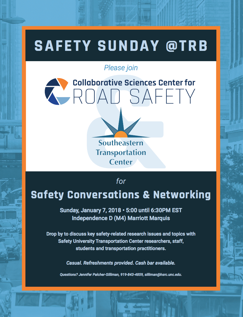Safety Sunday at TRB Event