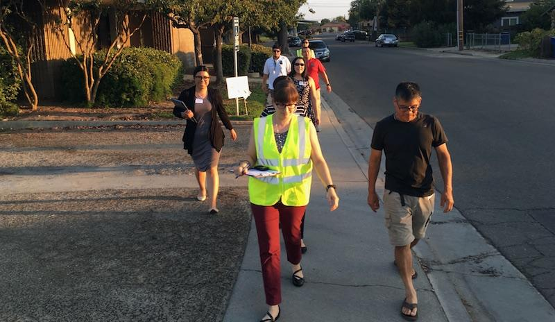 CPBST Walk Audit in Sanger