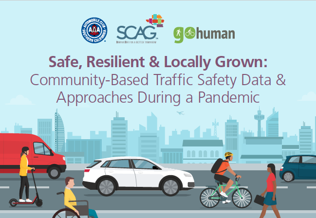 Graphic of the Traffic Safety Series flyer
