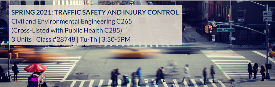 Banner of 2021 Traffic Safety and Injury Control Flyer