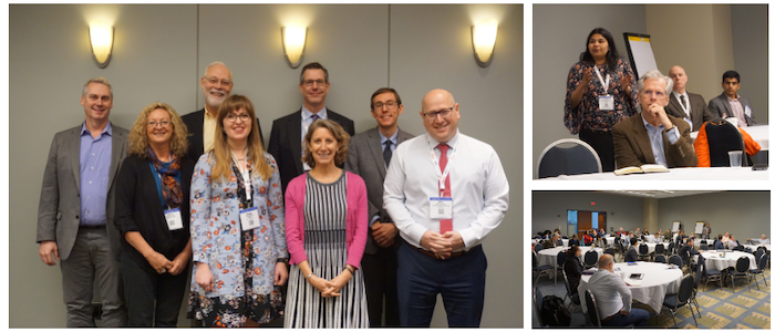 Collage of Photos from Speed Management Workshop at TRB