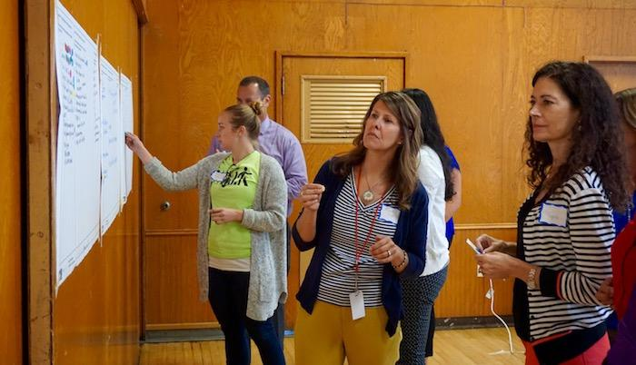 Participants at SRTS Workshop in Rancho Cordova
