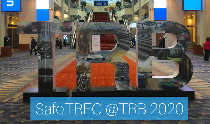TRB 2020 Sign in Lobby