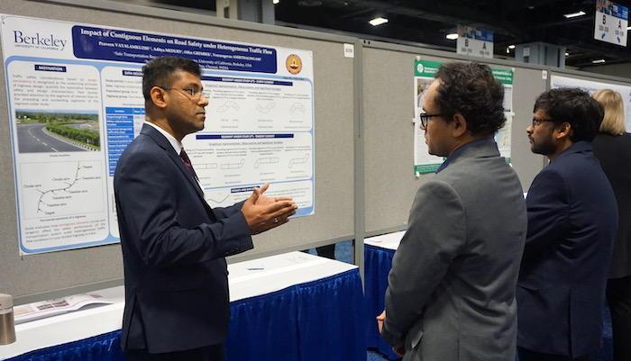 Praveen Vayalamkuzhi Presents Research at TRB 2020