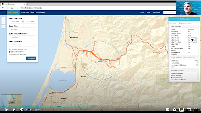 Video image of Tribal Data Viewer