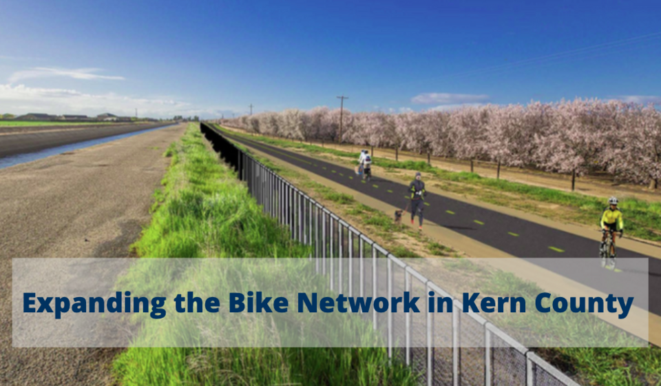 Design graphic of Friant Kern Canal Multi-Use Path