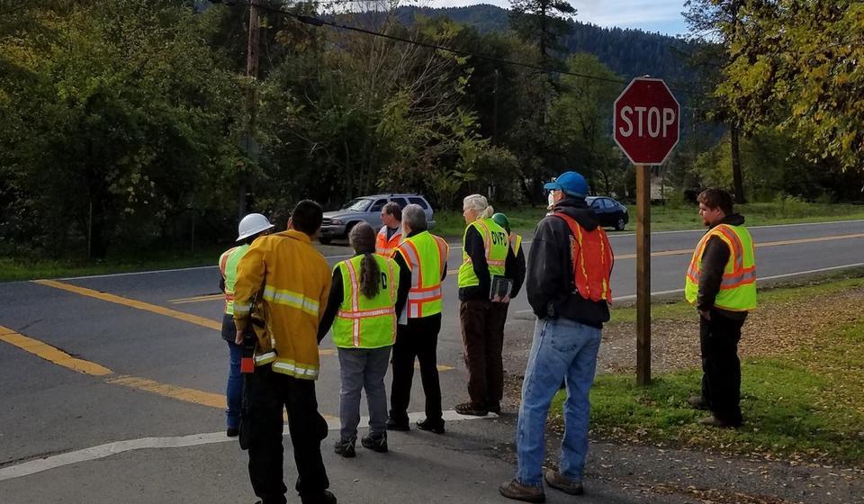 Group assessment on tribal road