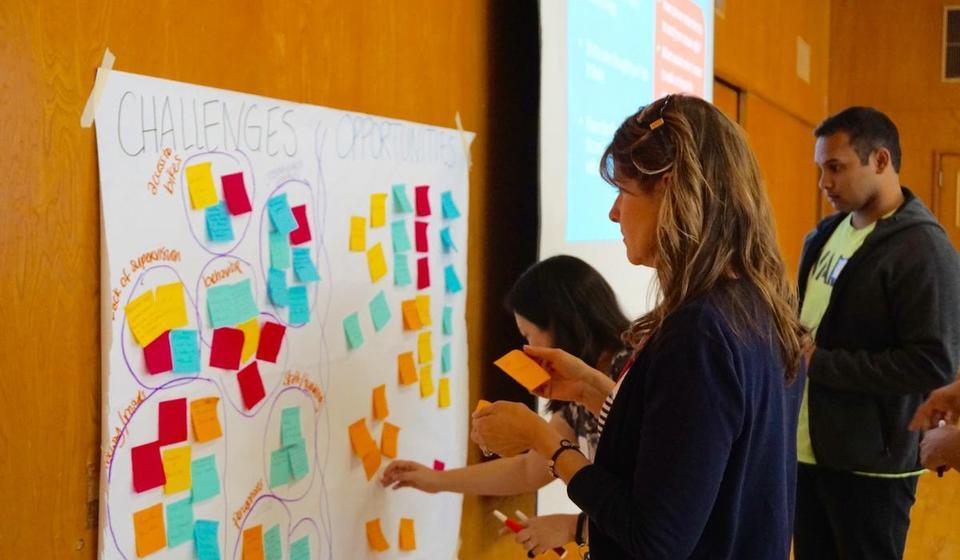 Participants at SRTS workshop