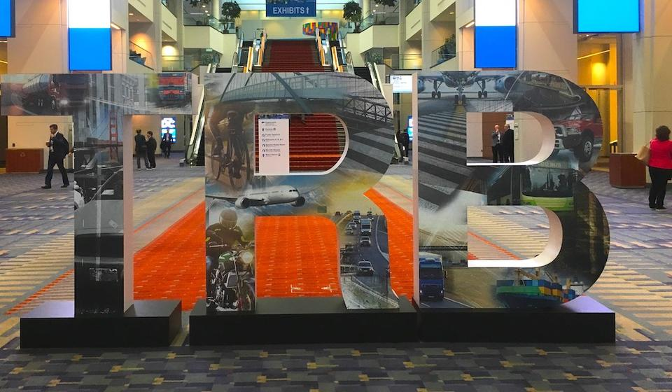 TRB Sign at 2020 Conference