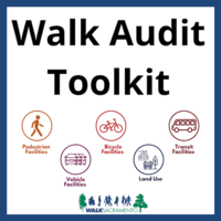 Cover of walk audit toolkit