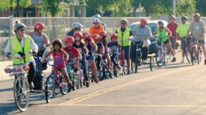 Bike Train at School