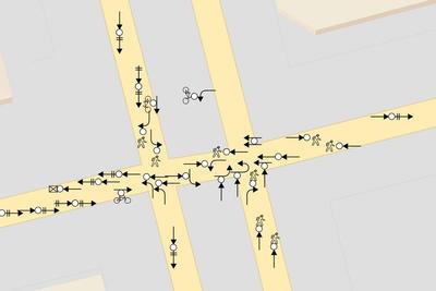 Collisions Diagram